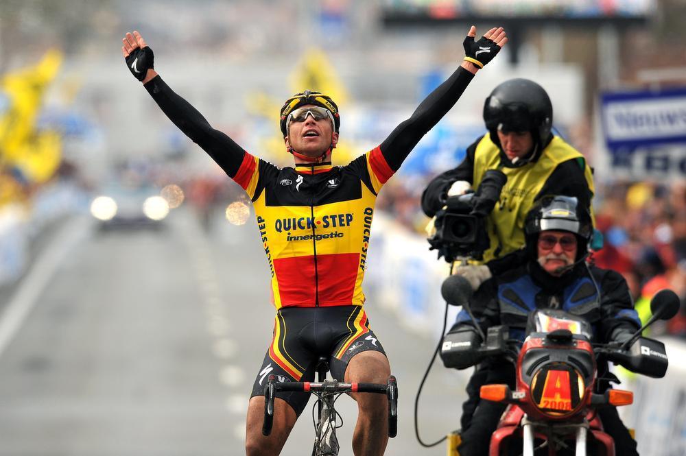 Stijn won de Ronde Van Vlaanderen in 2008.