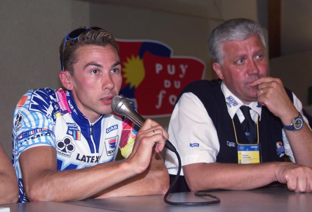 In 1999 trok Lefevere met Pavel Tonkov als kopman naar Frankrijk, maar de Rus stelde teleur en haalde zelfde Parijs niet.