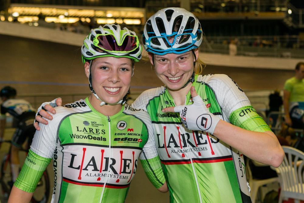 Shari Bossuyt (juniores) en Saartje Vandenbroucke (elite) vierden vorig weekend samen hun Belgische titel in het omnium. Maken zij in de zomer van 2020 beiden deel uit van het achtervolgingskwartet op de Olympische Spelen in Tokio? Dat kan zeker.