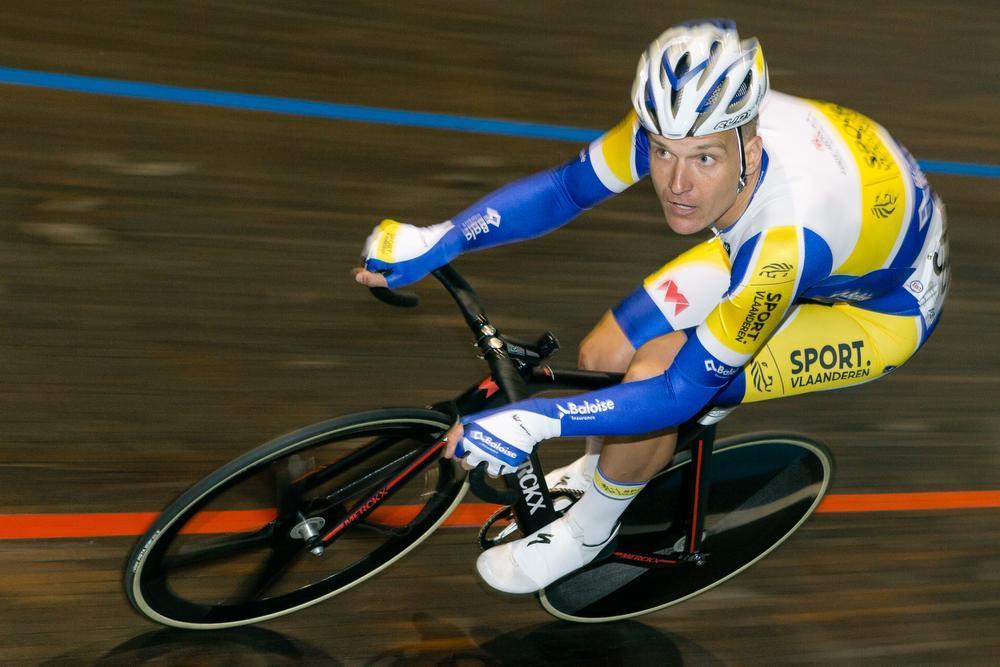Jonas Rickaert kroonde zich afgelopen weekend tot Belgisch kampioen omnium. (Foto Eénfoto)