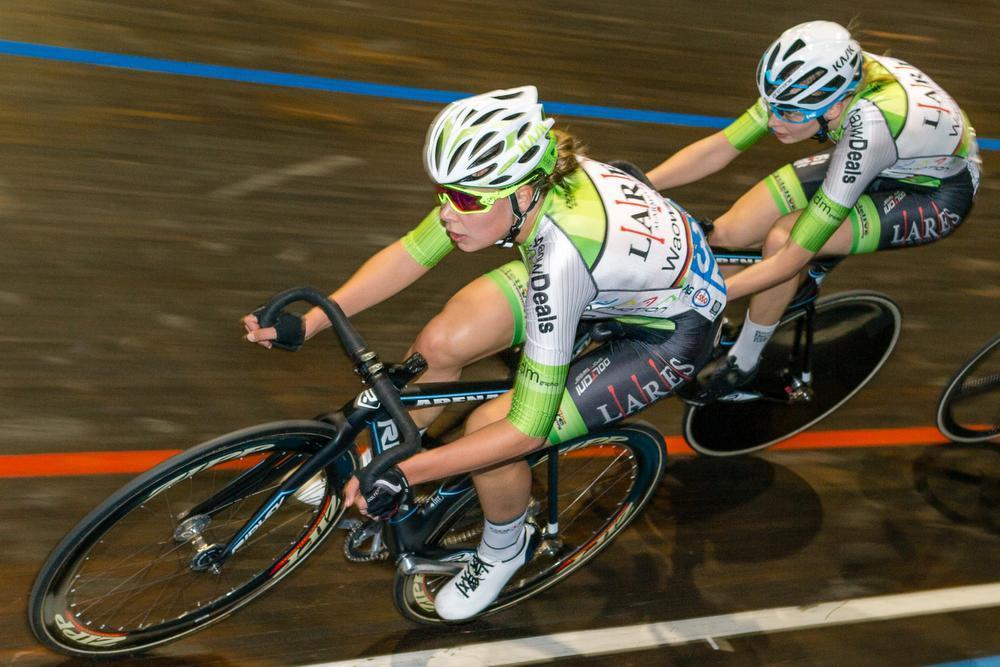 Shari Bossuyt en Saartje Vandenbroucke reden een sterk BK omnium. Bossuyt behaalde zo haar zevende gouden medaille bij de dames juniores. Voor Vandenbroucke was het haar eerste gouden plak.