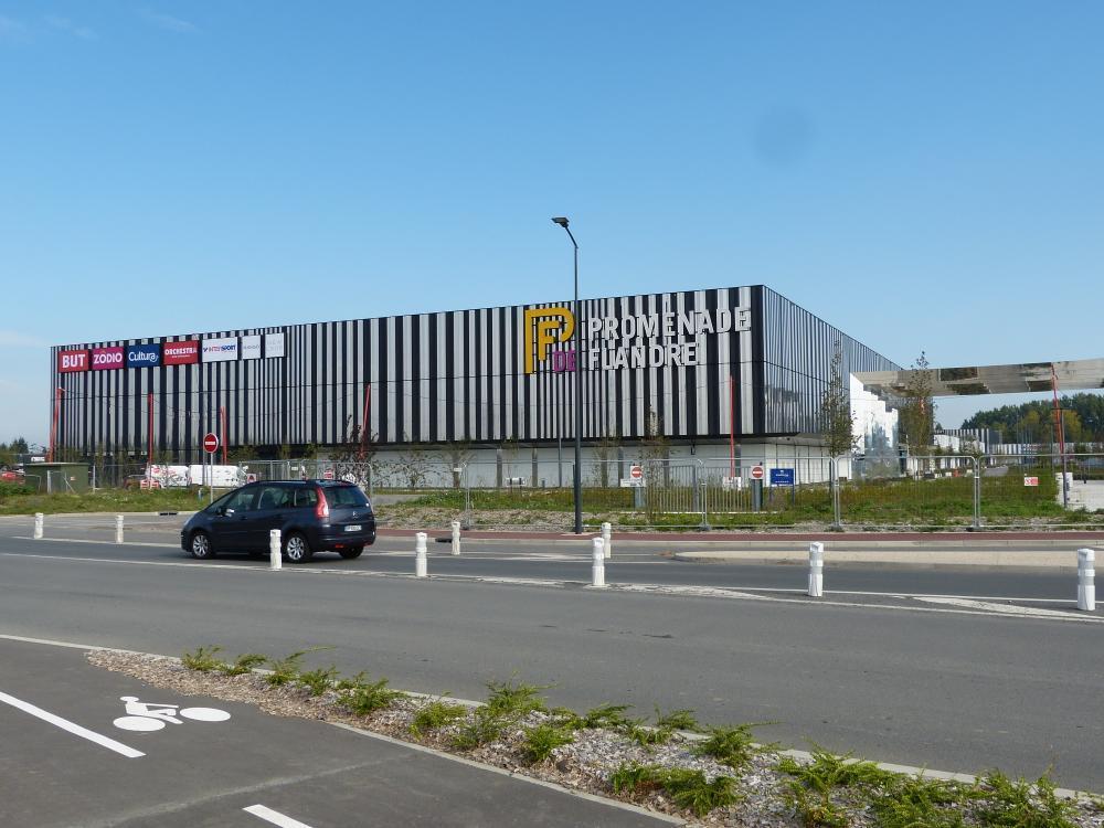 Promenade de Flandre blinkt vanop kilometers afstand. (Foto AXV)
