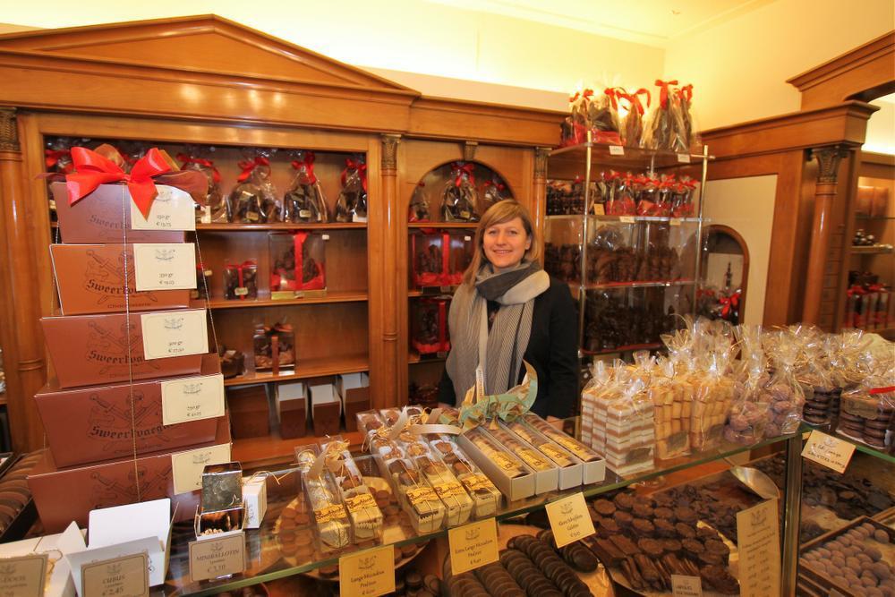 Valerie Verougstraete, chocolaterie Sweertvaegher.