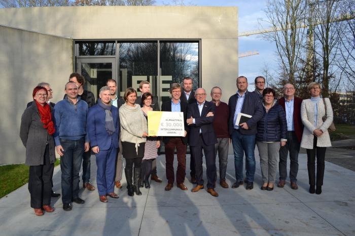Leiedal kreeg in 2016 de Vlaamse Klimaatprijs. (Foto Leiedal)