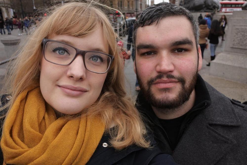 Julie Viaene uit Gistel woont in York met haar vriend Ajay Foster.