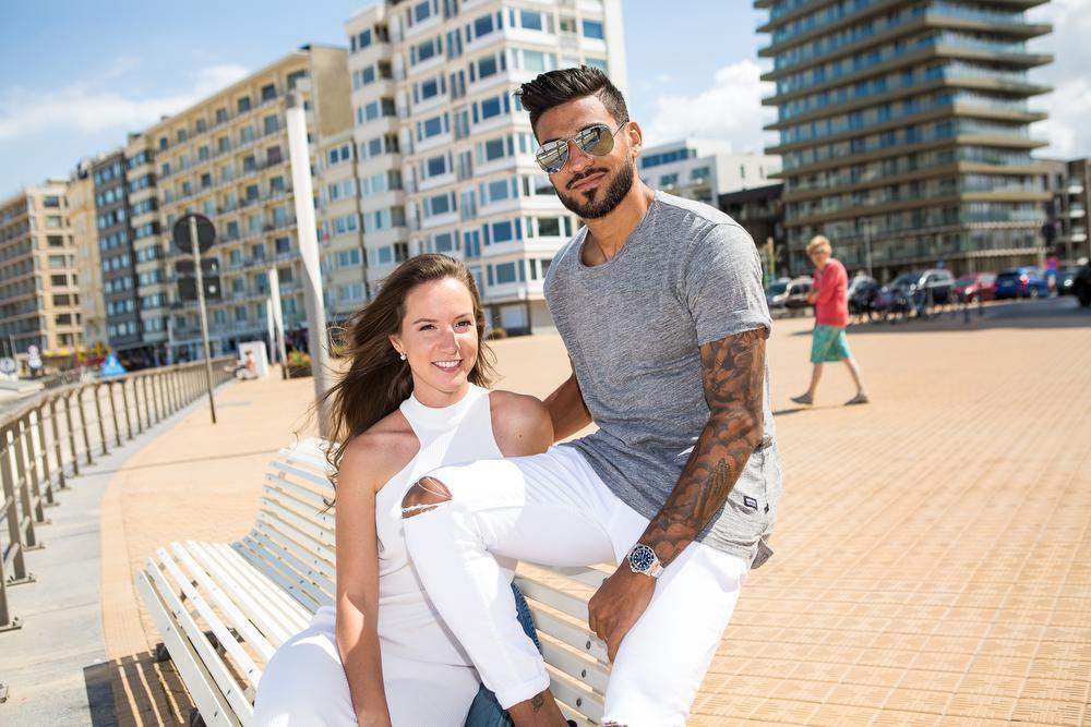 Ronald Vargas en Justine Lowagie wonen in Aalst, maar een verhuis naar de kust behoort tot de mogelijkheden.