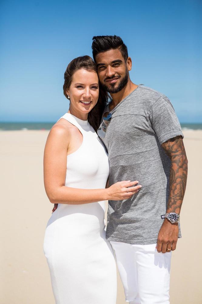 Justine Lowagie en Ronald Vargas stralen: