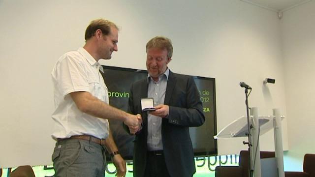 Kristien Dieltiens en Jan Vantoortelboom winnen de provinciale prijs letterkunde