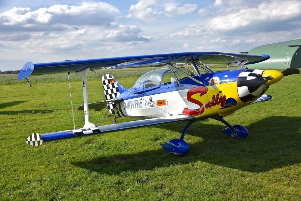Airshow Moorsele Deze Sally zal ook te bewonderen zijn op de show.