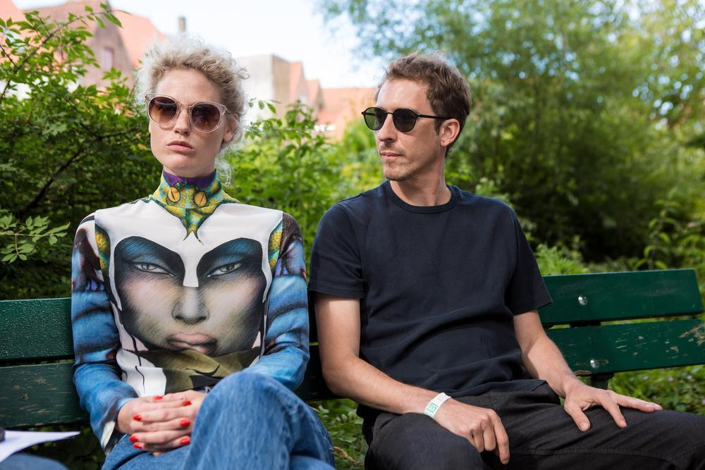 Stefanie Callebaut en Benjamin Desmet van SX.