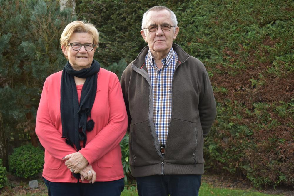 Wevelgemnaars Christine Devoldere en Guido Vandendriessche blijven Ivo Poppe steunen.