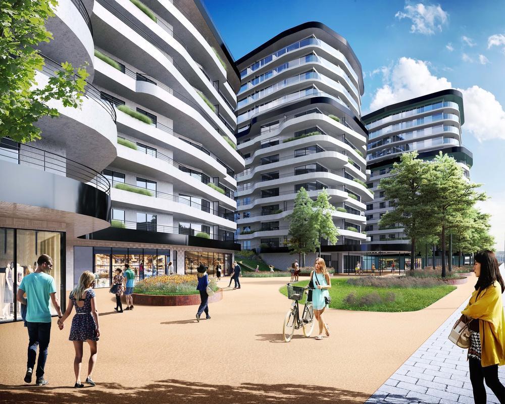 Hogeschool maakt plaats voor woonproject The Waves in Oostende