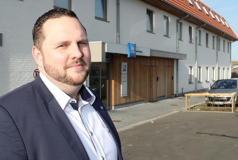 Bert Degryse van het Ibis Budget Hotel aan de luchthaven denkt aan uitbreiding.
