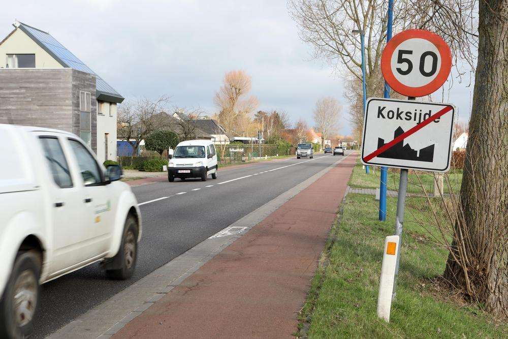 Tussen Koksijde-Dorp en Oostduinkerke-Dorp is de N396 uitgekozen voor trajectcontrole.