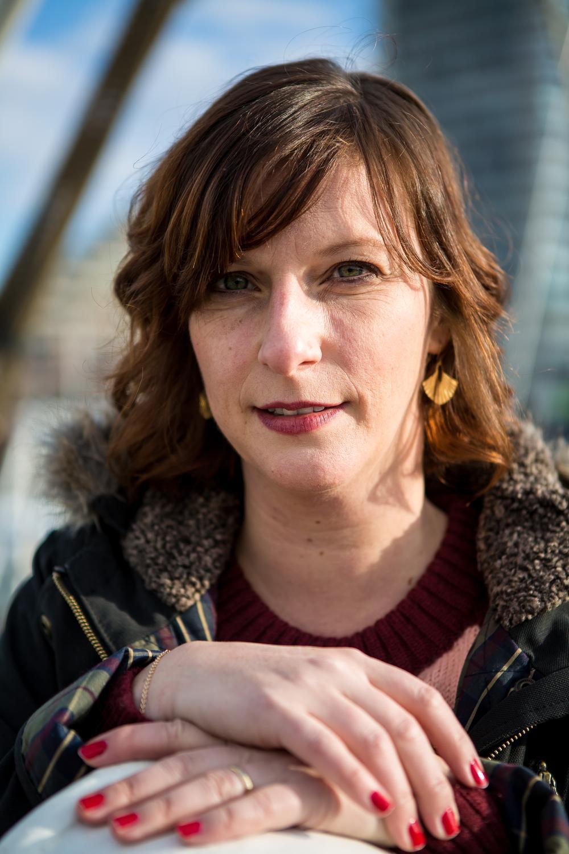Actrice Mieke Dobbels: