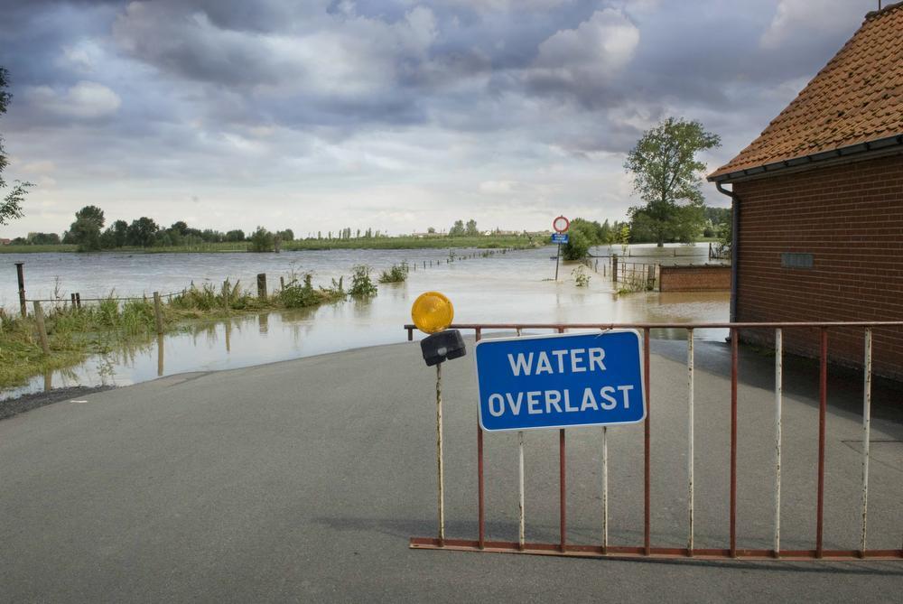 Wateroverlast in Vleteren