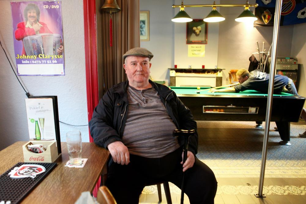 Caféklap In den teerling: