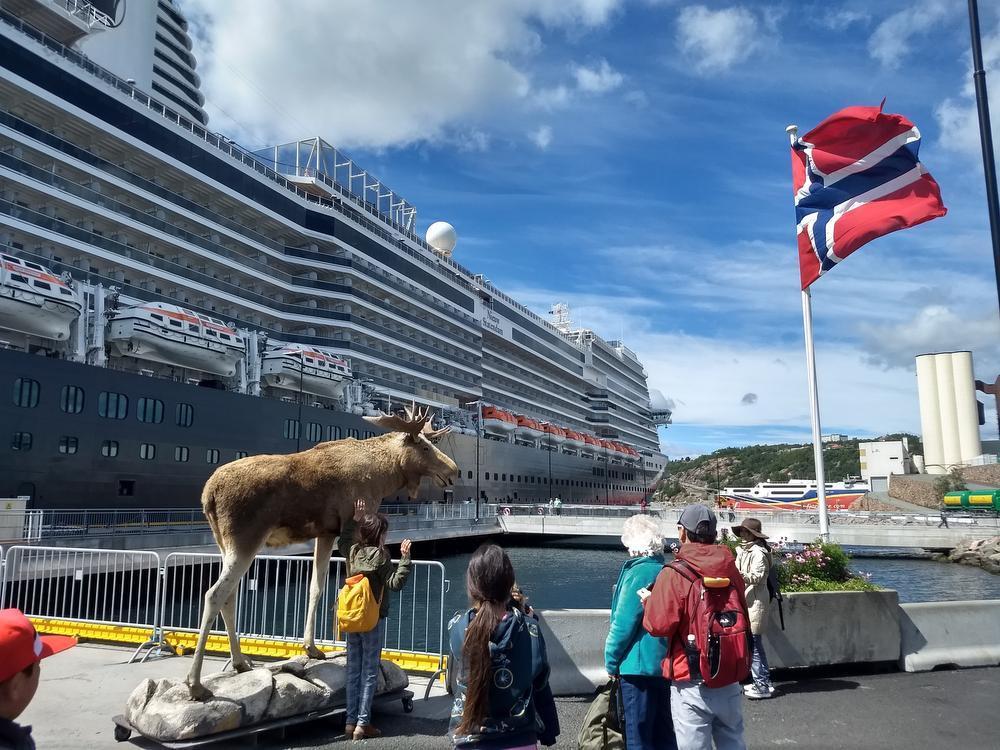 IN BEELD - Op cruise naar Noorwegen met KW