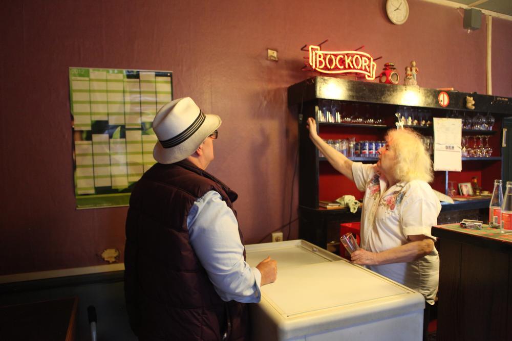 Caféklap in De Nieuwe Welkom