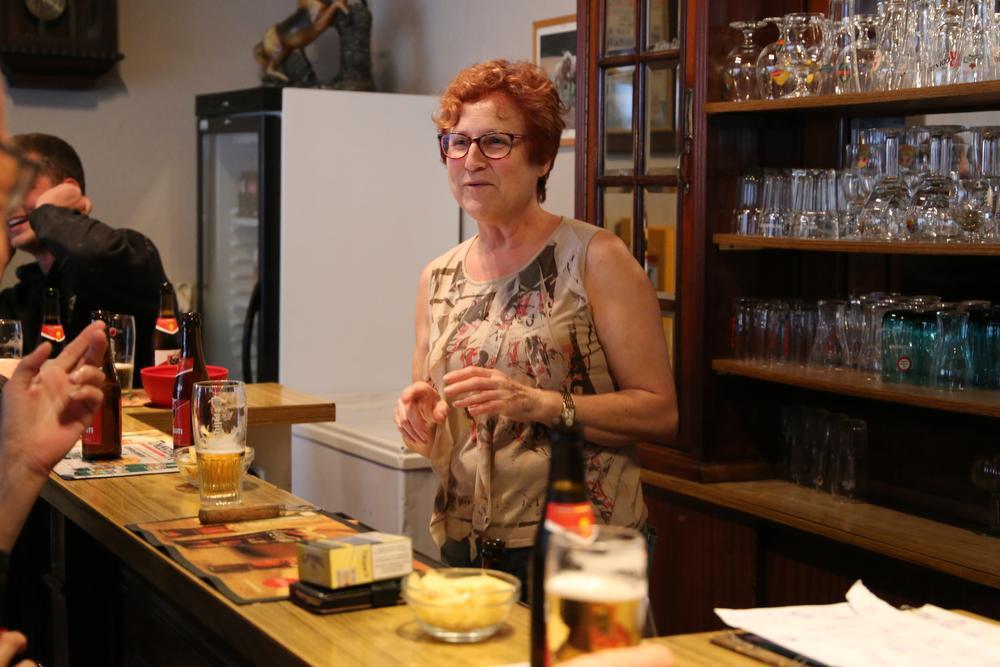 Caféklap in De Zwaan: