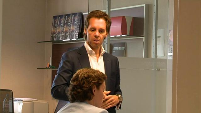 Bouwpromotor Bart Versluys na amper drie weken weer aan het werk na zwaar jetski-ongeval