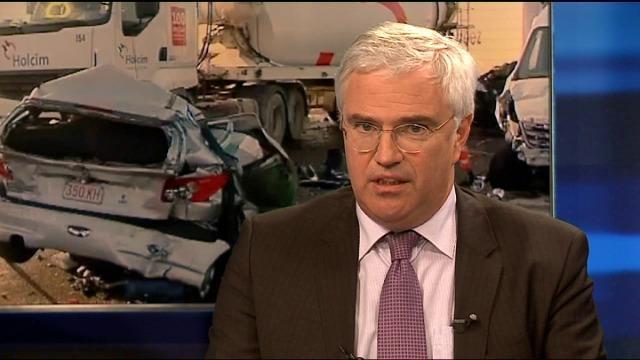 Provinciaal rampenplan West-Vlaanderen afgekondigd na kettingbotsingen