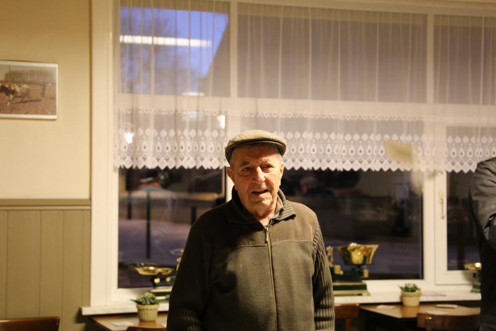 Caféklap in 't Oud Gemeentehuis in Schore: