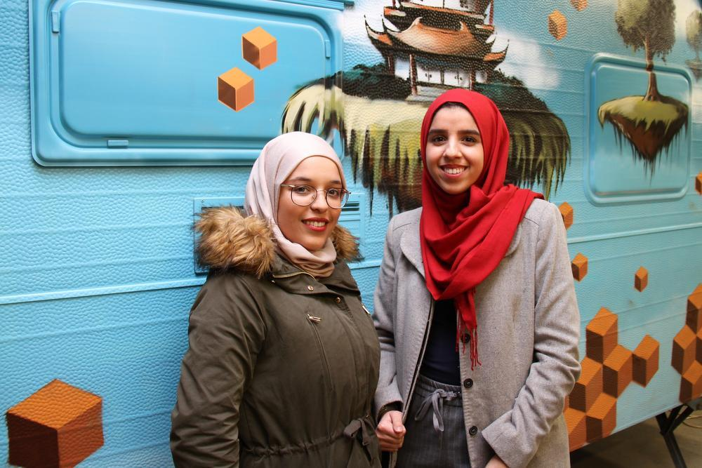 Hasna El Machaoud en Loubna Kasmi