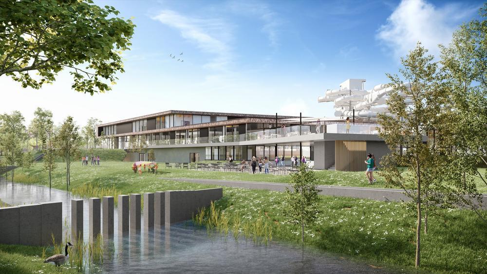 Twee extra glijbanen voor Kortrijks zwembad: