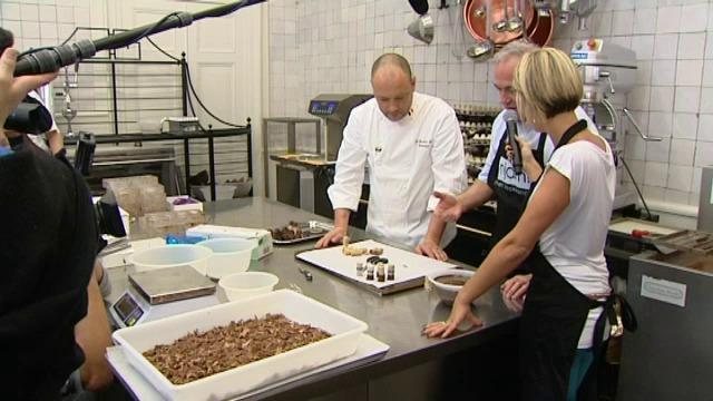 Dominique Persoone uit Brugge bundelt 45 chocoladerecepten in boek