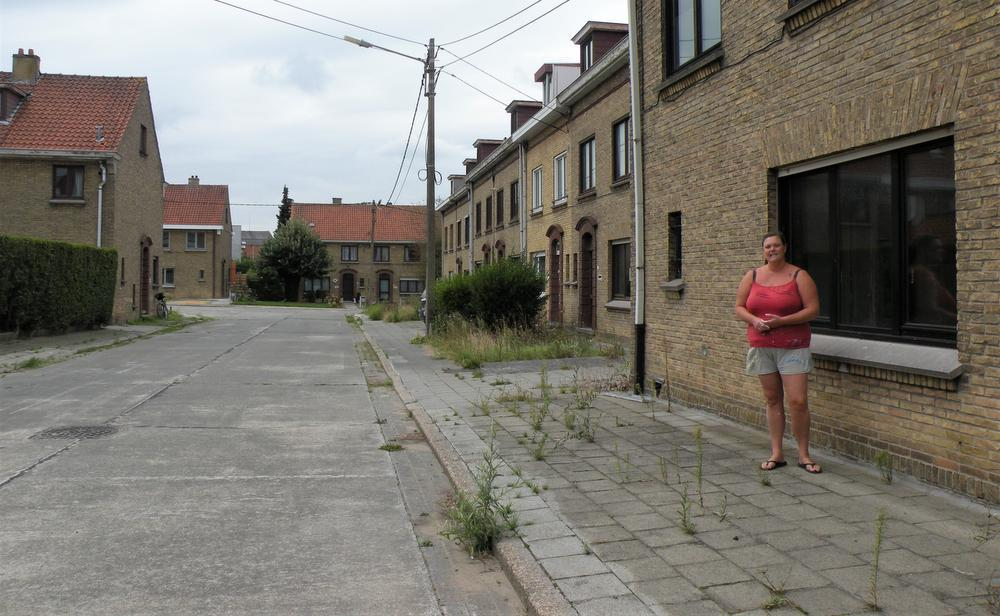 Nele woont sinds 2008 in een zijstraat van Kapel ter Bedehof. (Foto ANK)