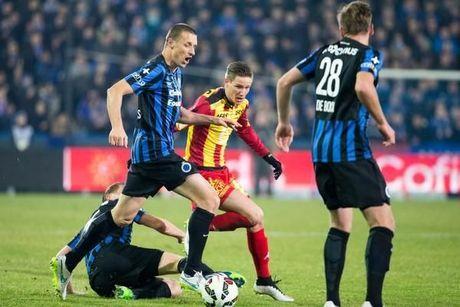Brandon Mechele kopt Club Brugge naar de halve finale