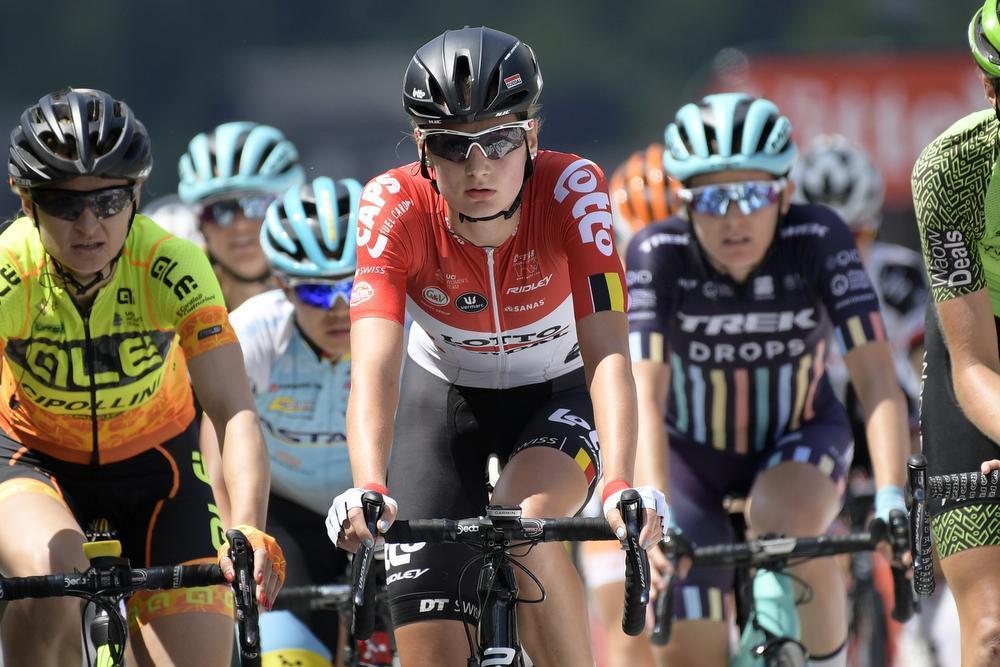 Kelly Van den Steen. (Foto Belga)