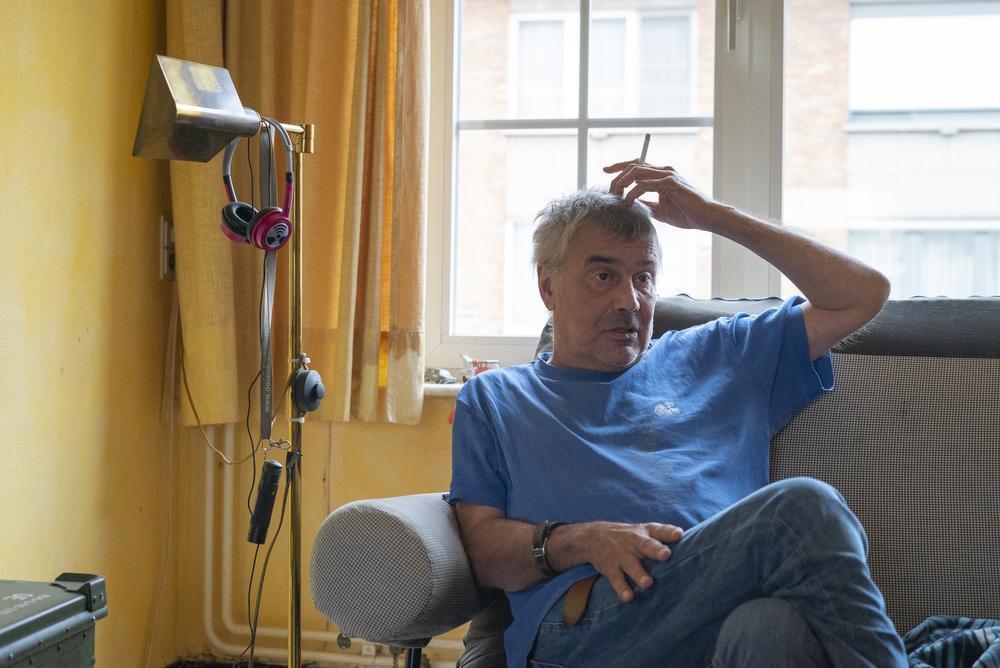 Marc was spoedarts in het Sint-Lucas-ziekenhuis in Gent. Tot hij een herseninfract kreeg.
