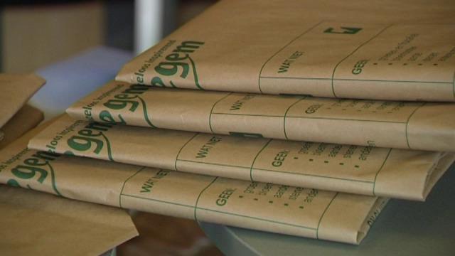 Izegem start proefproject met composteerbare zakken