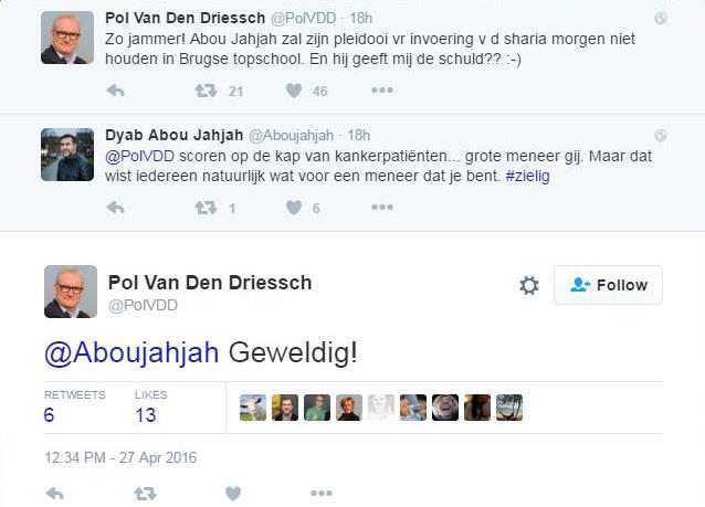 Dyab Abou Jahjah niet langer welkom in Ter Groene Poorte