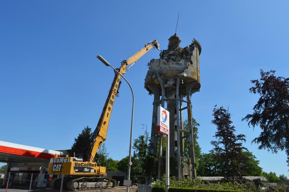 Oude watertoren in Ieper laat zich niet zomaar slopen