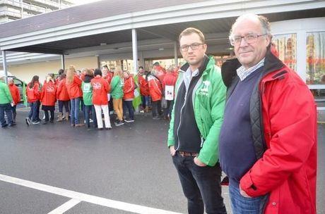 Meeste winkels Delhaize gesloten door staking