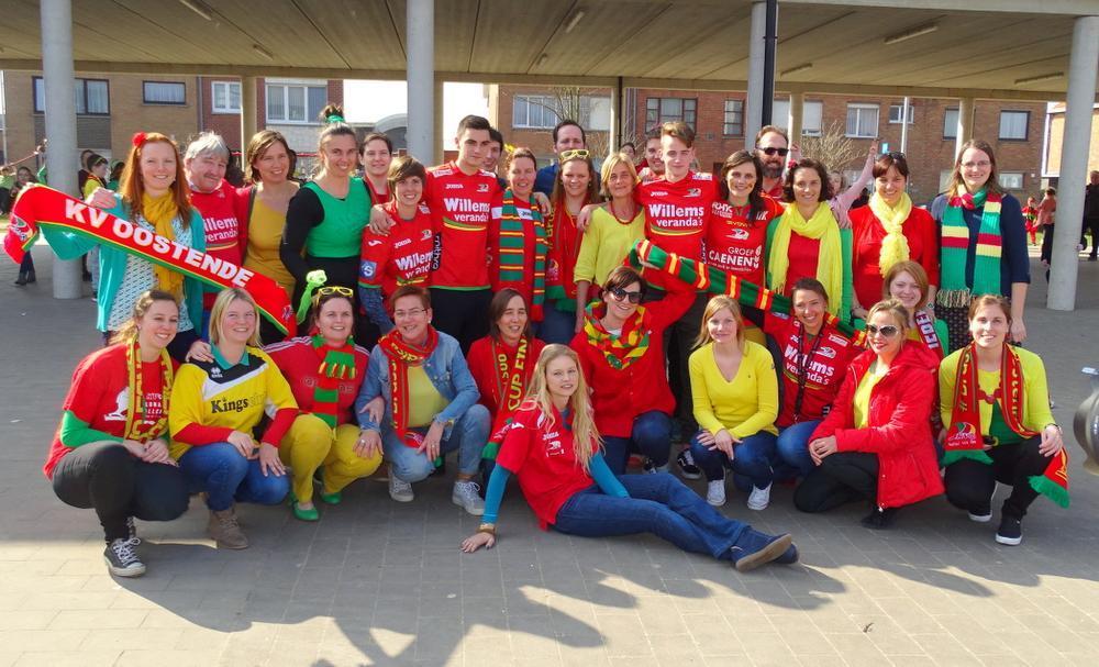 Basisschool van Stene supportert massaal voor KV Oostende