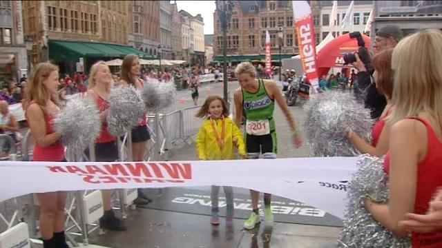 Triatlon - Uplace domineert Halve van Brugge