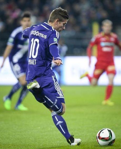 KVO kan niet stunten bij Anderlecht