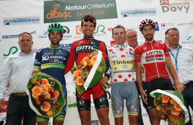 Podium wegrit Rio met gouden Greg stond vorige week al (bijna identiek) in Roeselare