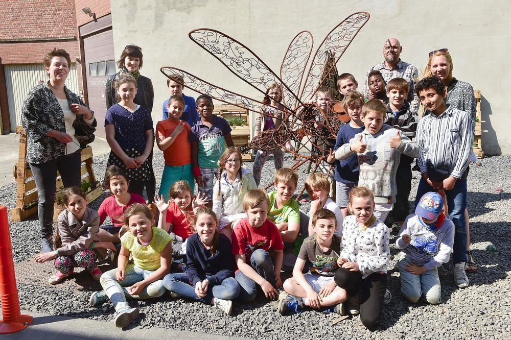 De leerlingen van het vierde leerjaar van Basisschool Ringlaan lieten zich van het creatiefste kant zien. Deze beestige kunst valt te bewonderen in het Citroenstraatje in Roeselare. Lees er alles over in De Weekbode Roeselare.