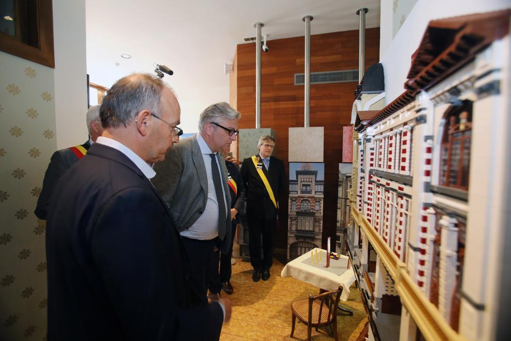 Prins Laurent brengt bezoek aan Belle Epoque Centrum in Blankenberge