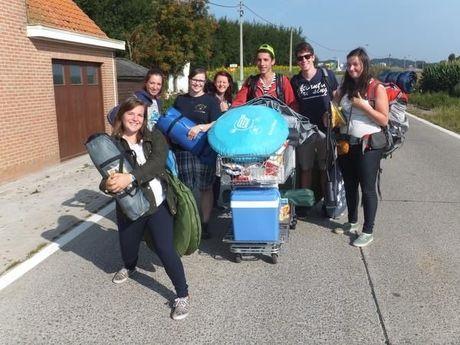 Eerste kampeerders aangekomen aan festivalterrein Dranouter
