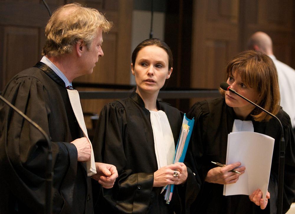 Stephane Verraes (Menen) en Katrijn Vanmoortel (Kortrijk), burgerlijke partij voor Franky De Jonghe, en Ann Van de Steen (Aalst) burgerlijke partij voor Tim De Wolf.