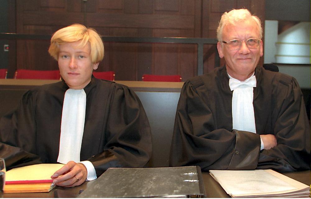 Meester Ivan en dochter Kristin Dewever uit Wakken verdedigden de beschuldigde.