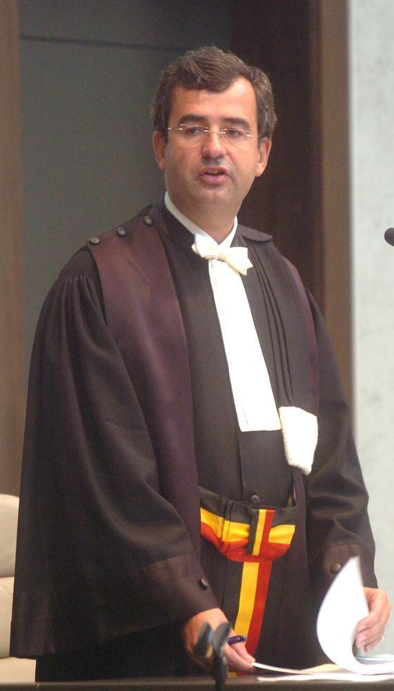 Procureur-generaal Luc Strypsteen.