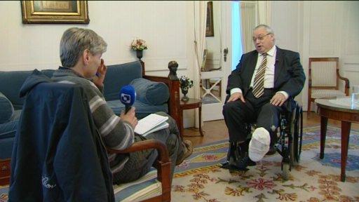 Gouverneur Breyne breekt kuitbeen tijdens nieuwjaarsreceptie