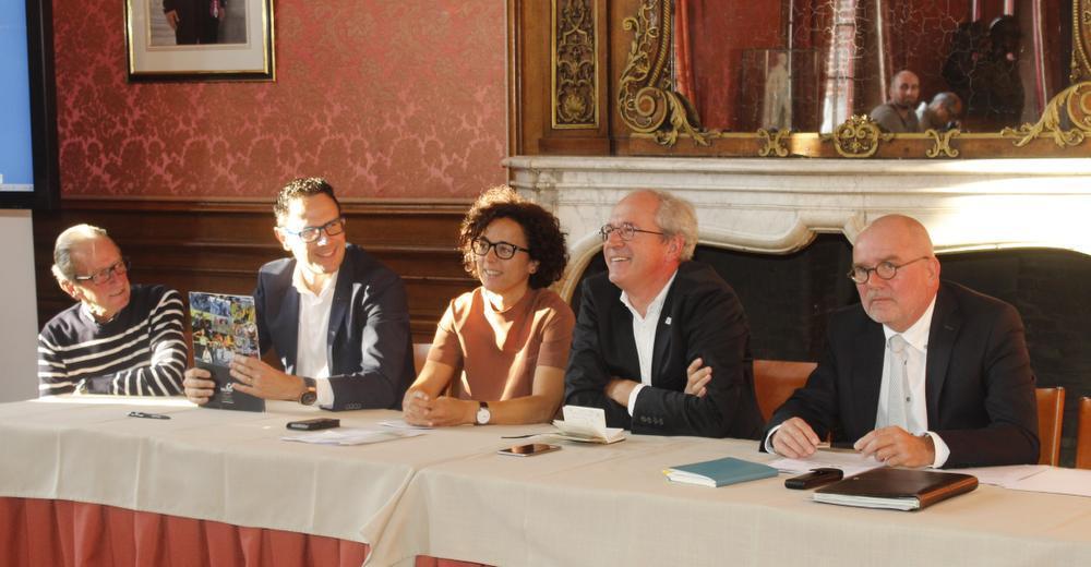 Rudy Vannieuwenhuyse, Greg Broekmans, Annick Lambrecht, Renaat Landuyt, Boudewijn Laloo